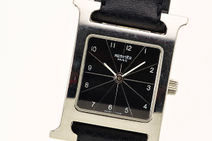 Hウォッチはエルメスの名刺のような時計です