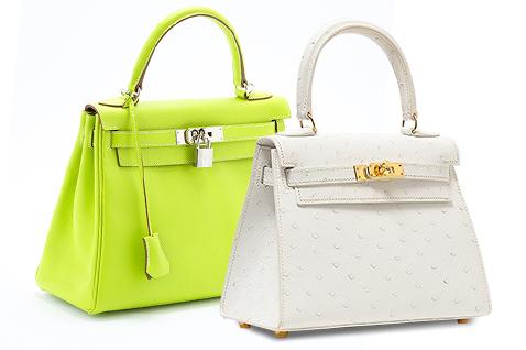 ファッションに踏み出したエルメスのケリーバッグ