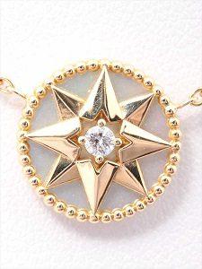 new product 3776c bb45e 池袋店】ディオール ローズ デ ヴァン シェル 1Pダイヤモンド ...