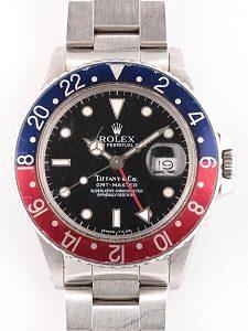 online store 05cfc aeba7 ロレックス GMTマスターⅠ Ref.16750 ティファニーWネームを買取 ...