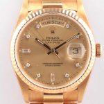 ロレックス デイデイト 18238A R967435 YG/AT 旧JB シャンパン文字盤